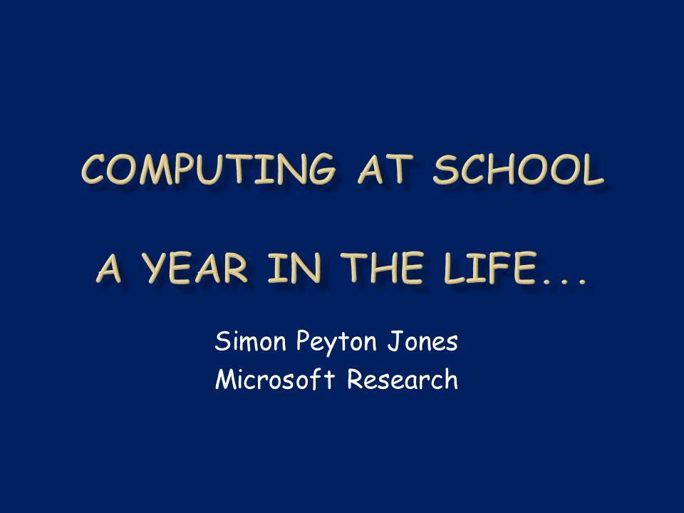 Simon Peyton Jones Microsoft Research