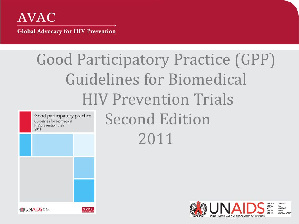 Why were the GPP Guidelines created.