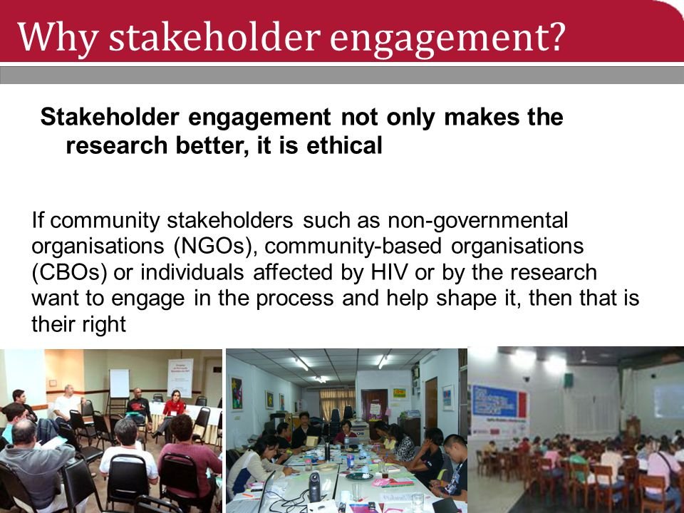 The steps: Evaluating GPP: What was the impact of the stakeholder engagement.