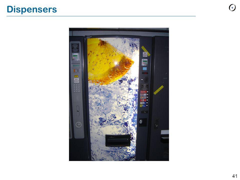 41 Dispensers