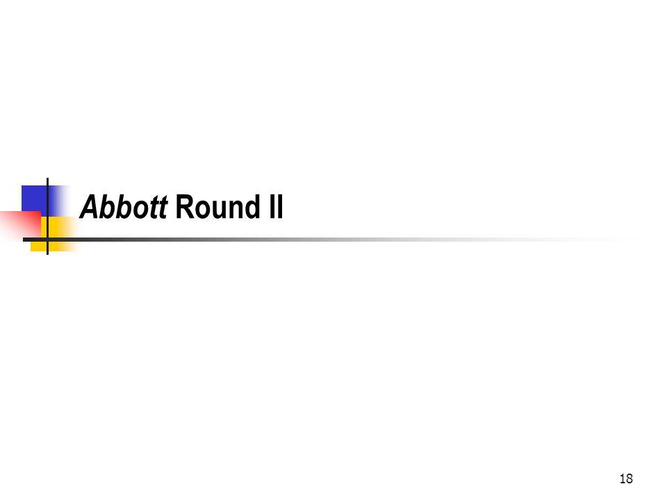 Abbott Round II 18