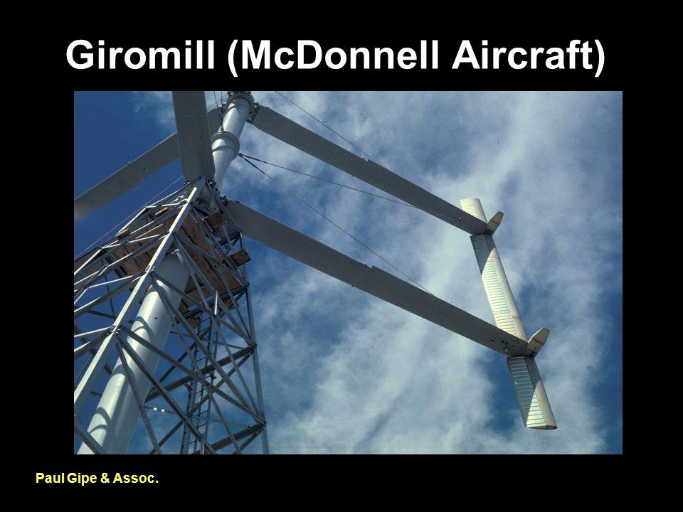 Giromill (McDonnell Aircraft) Paul Gipe & Assoc.