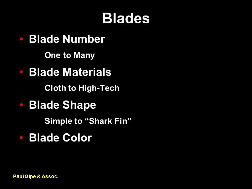 Blades Paul Gipe & Assoc.