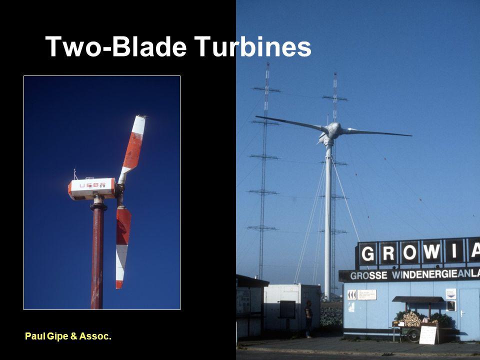 Two-Blade Turbines Paul Gipe & Assoc.