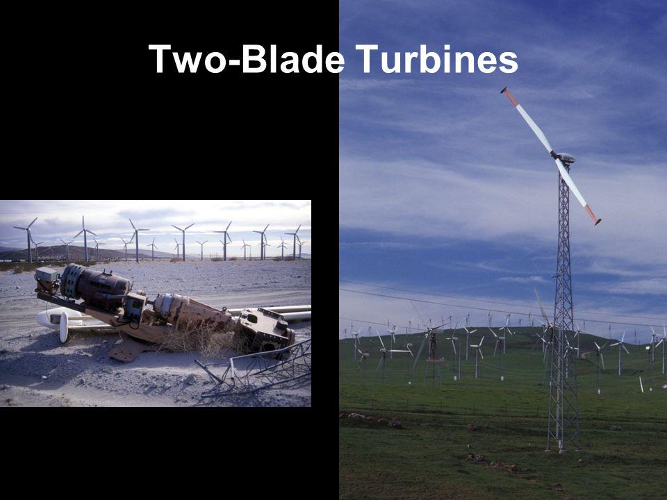 Two-Blade Turbines