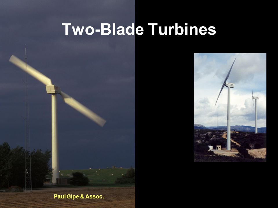 Two-Blade Turbines Paul Gipe & Assoc.