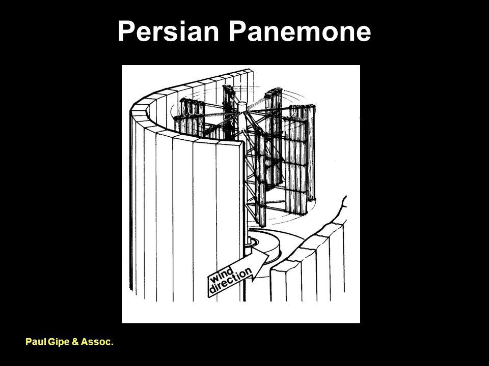 Persian Panemone Paul Gipe & Assoc.