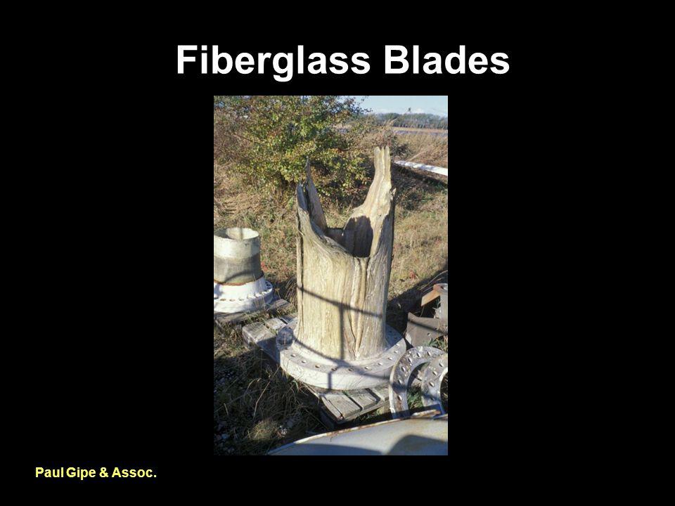 Fiberglass Blades Paul Gipe & Assoc.