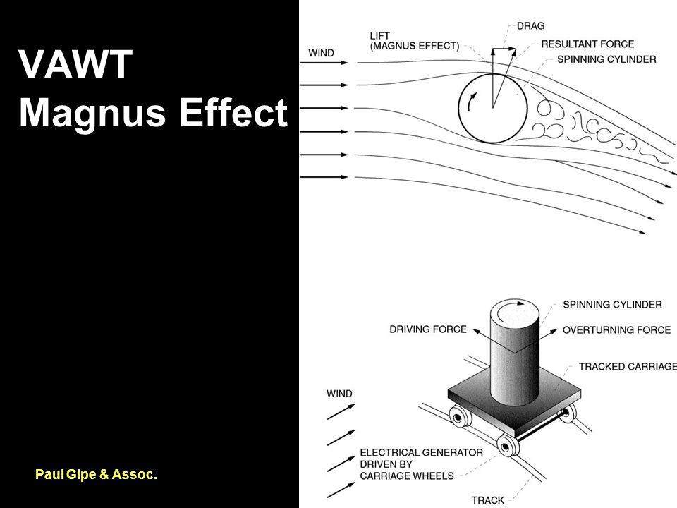 VAWT Magnus Effect Paul Gipe & Assoc.