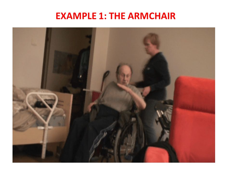 EXAMPLE 1: THE ARMCHAIR