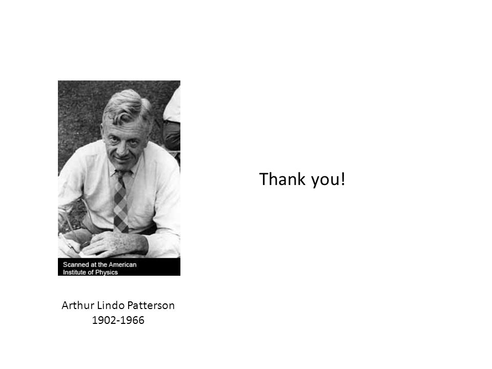 Arthur Lindo Patterson 1902-1966 Thank you!