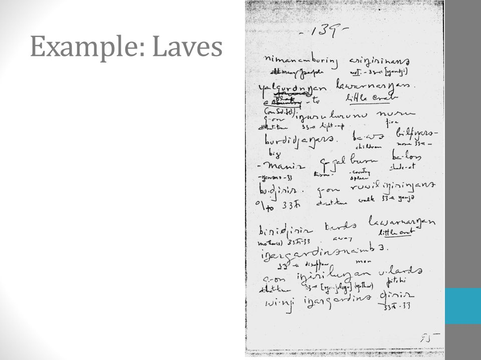Example: Laves