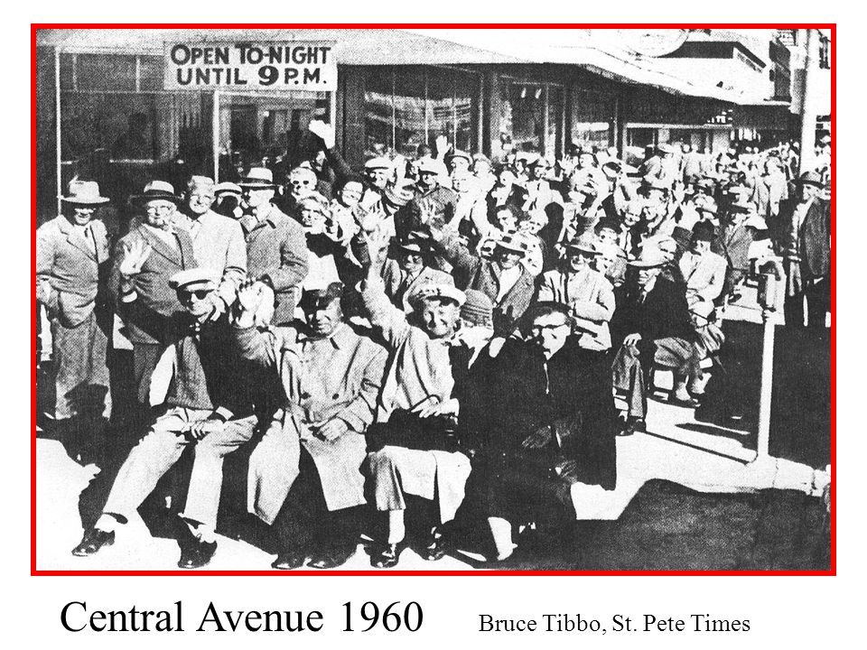 Central Avenue 1960 Bruce Tibbo, St. Pete Times