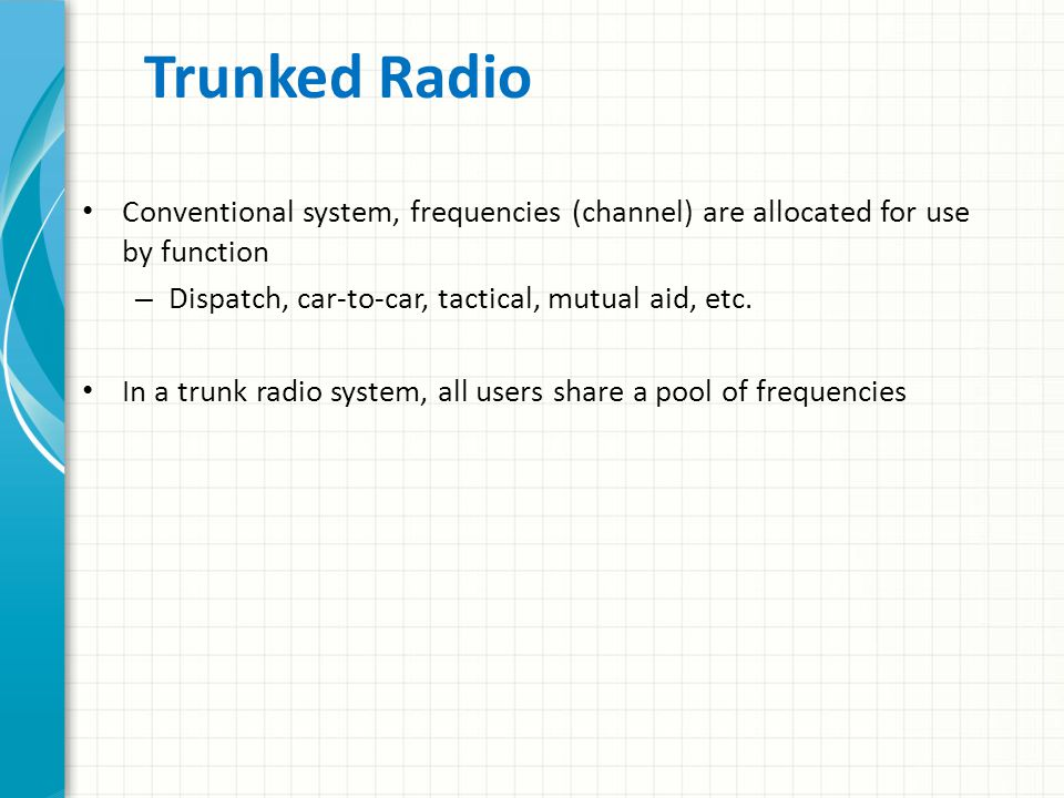 Two-Way Voice Radio Simple and easy to operate – Public service bands or ham frequencies, whether SSB or FM, via repeater or simplex Operate on multip