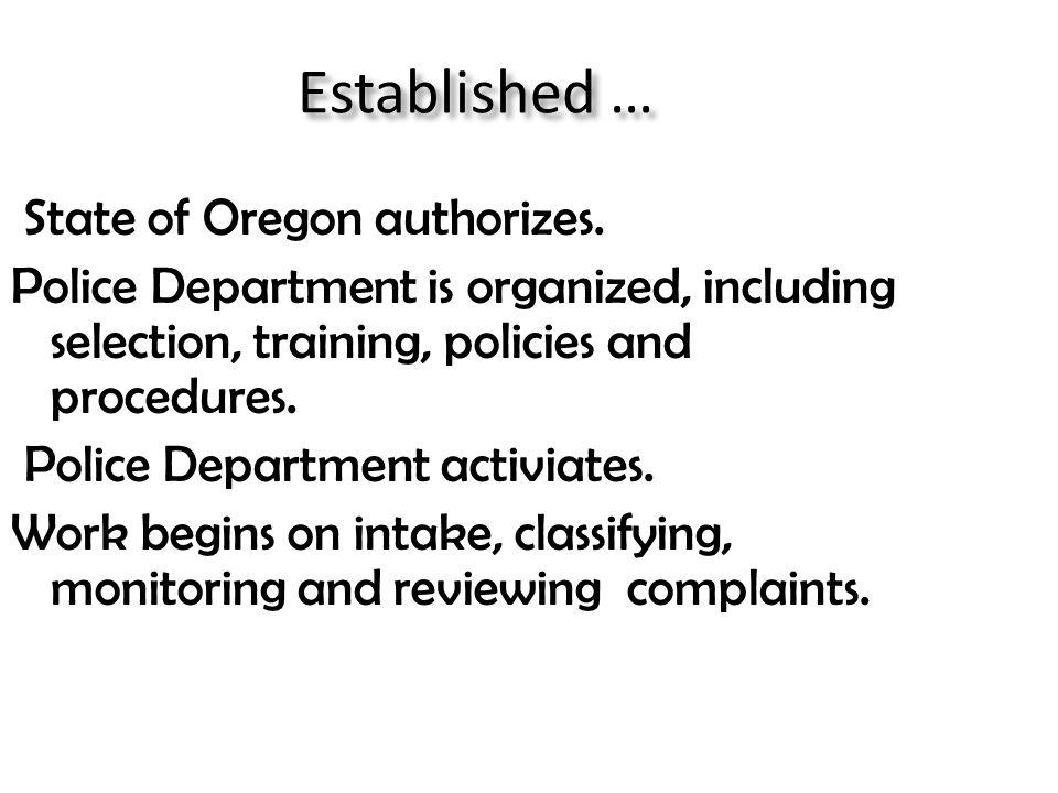 Complaint Process Entry for Complaints – One process for students (Shang); one process for others.