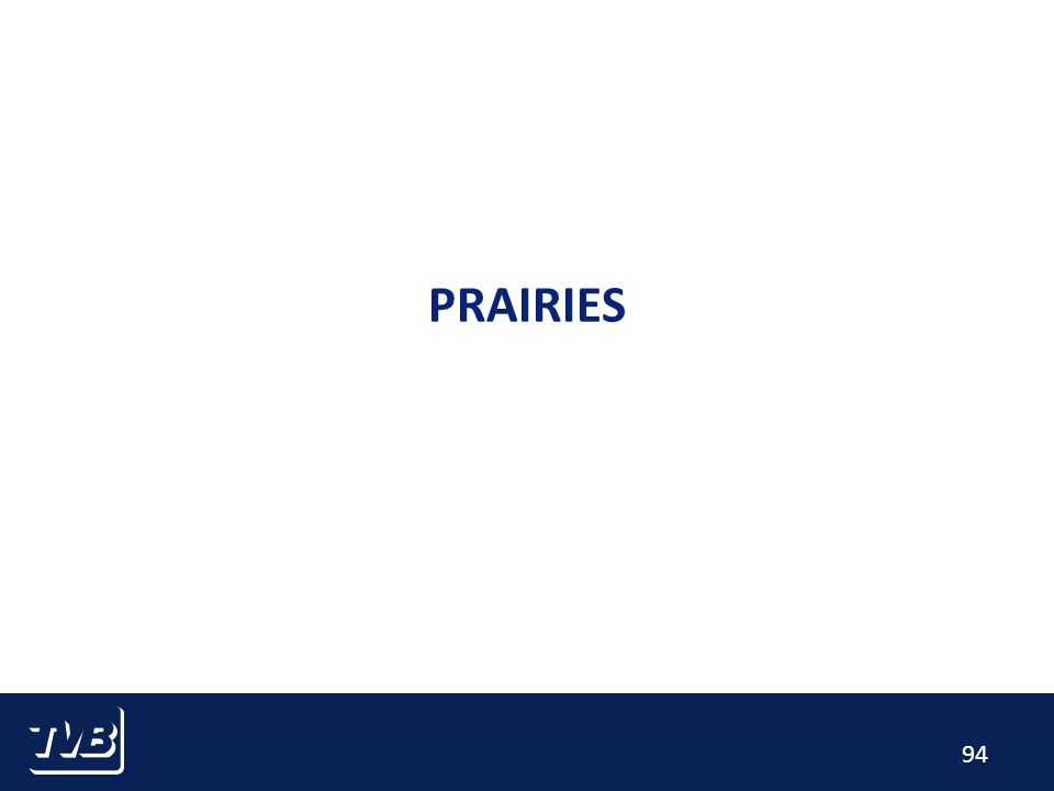 94 PRAIRIES