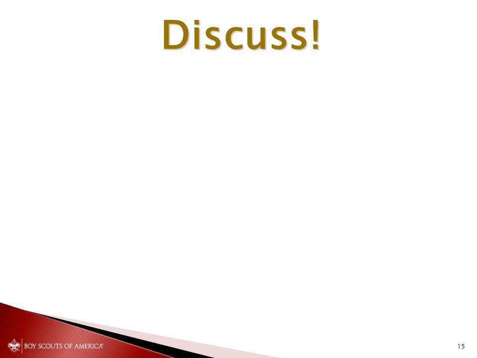 Discuss! 15