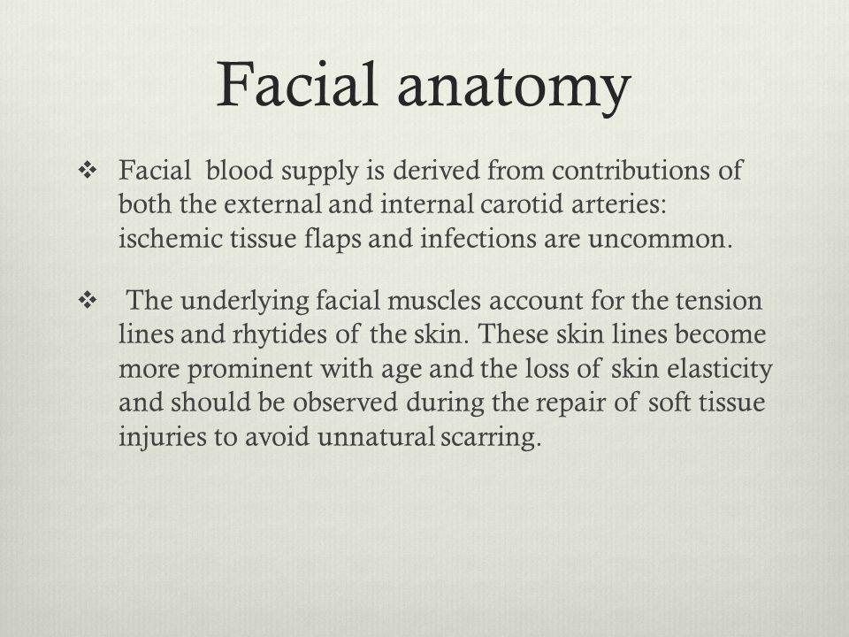 B= bleeding  maxillary artery, superficial temporal artery, angular artery.