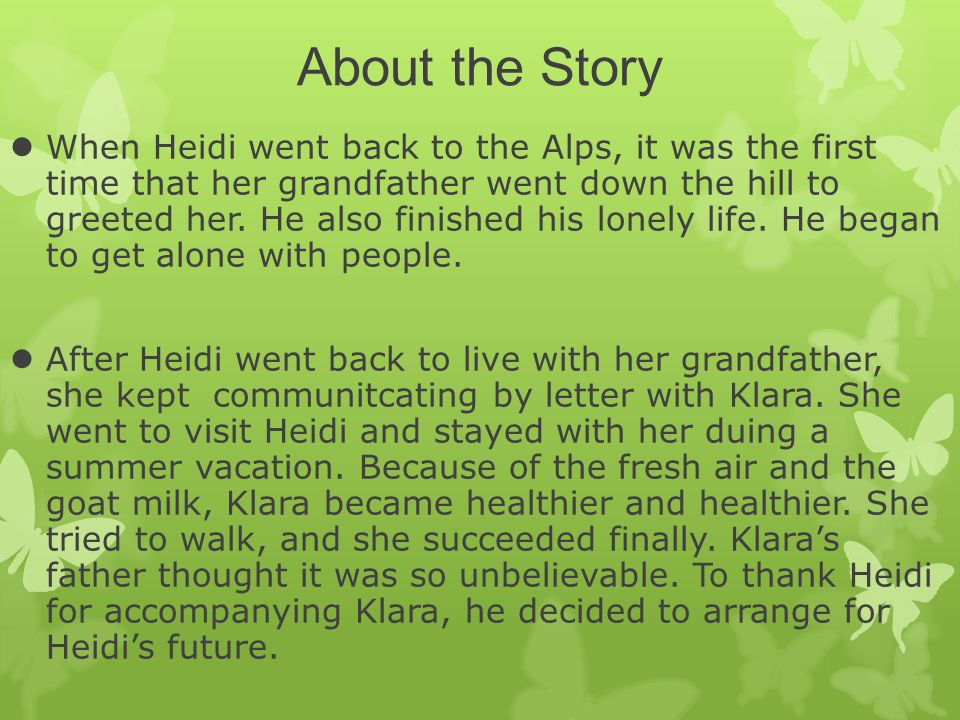 My Feelings About the Story Interesting Inspiring Touching