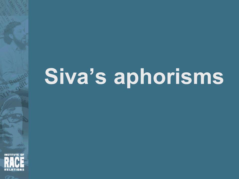 Siva's aphorisms