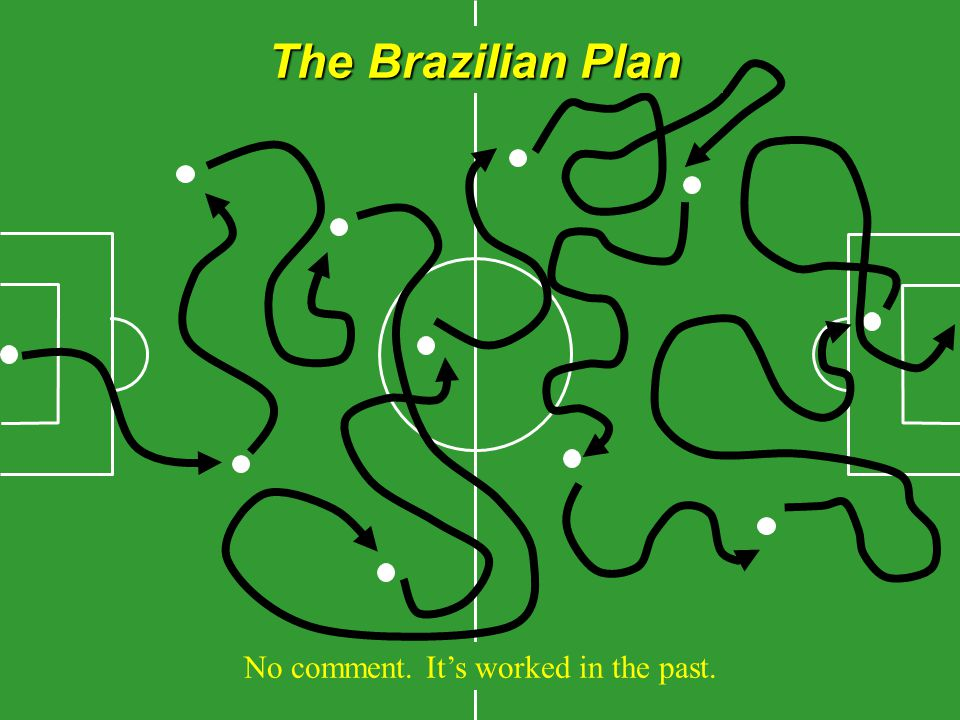 The Brazilian Plan No comment. It's worked in the past.