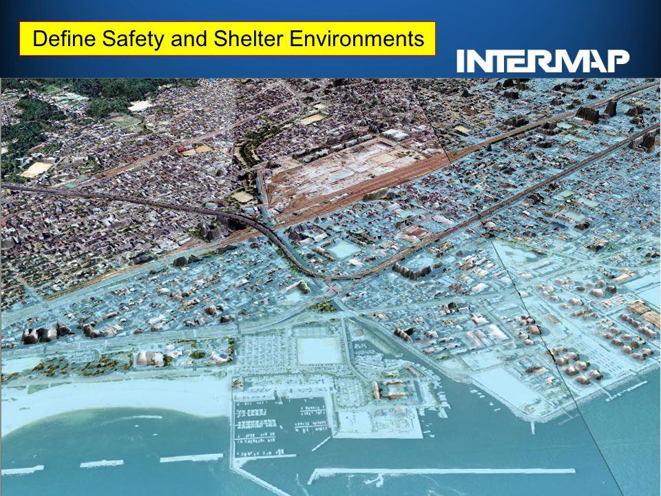 津波遡上解析に係わる レーザー測量のご紹介 (技術提案の概要説明) Define Safety and Shelter Environments