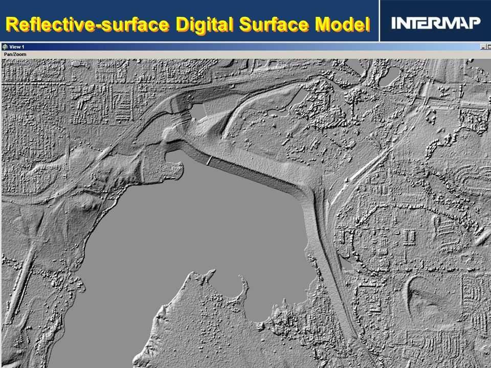 Reflective-surface Digital Surface Model