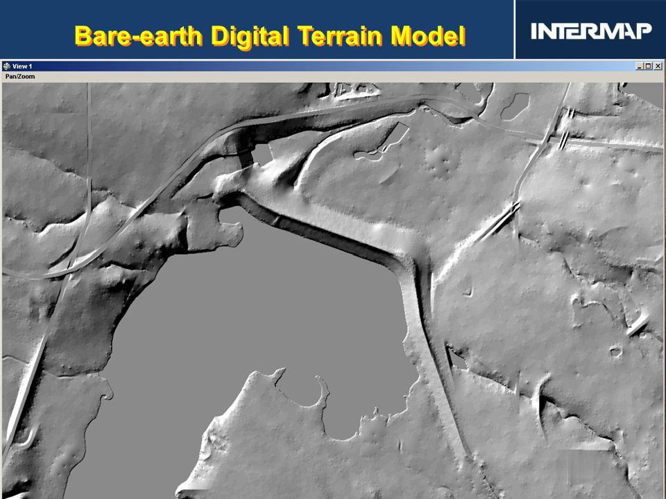 Bare-earth Digital Terrain Model