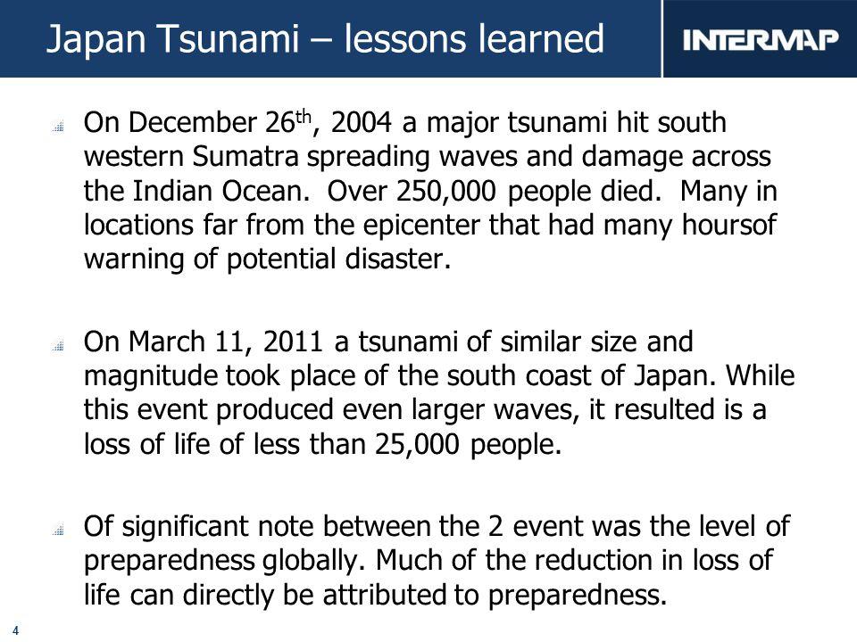 15 City Level Tsunami Simulation City level Tsunami Simulation – Precise modeling at a large scale.