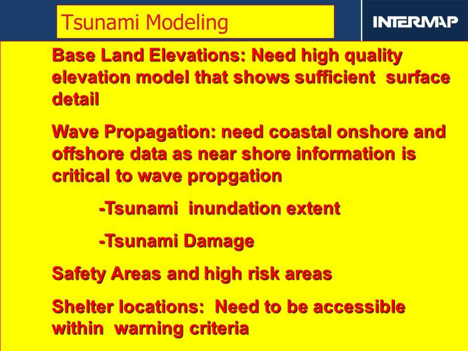 津波遡上解析に係わる レーザー測量のご紹介 (技術提案の概要説明) Tsunami Inundation Extent Modeling