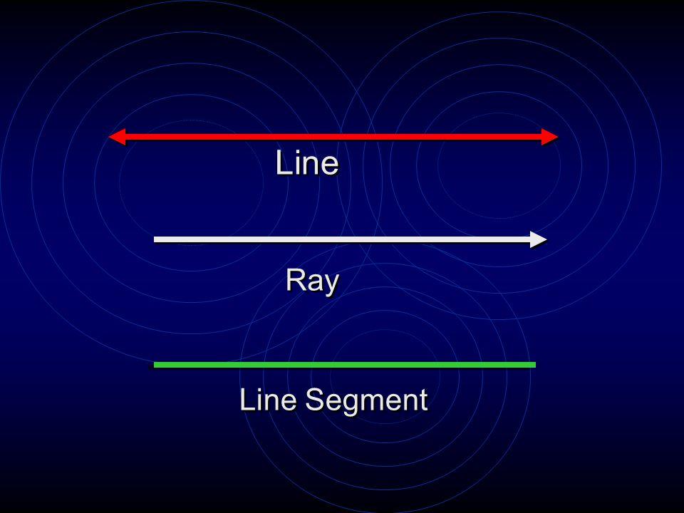Line Ray Line Segment