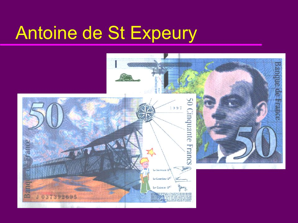 Antoine de St Expeury