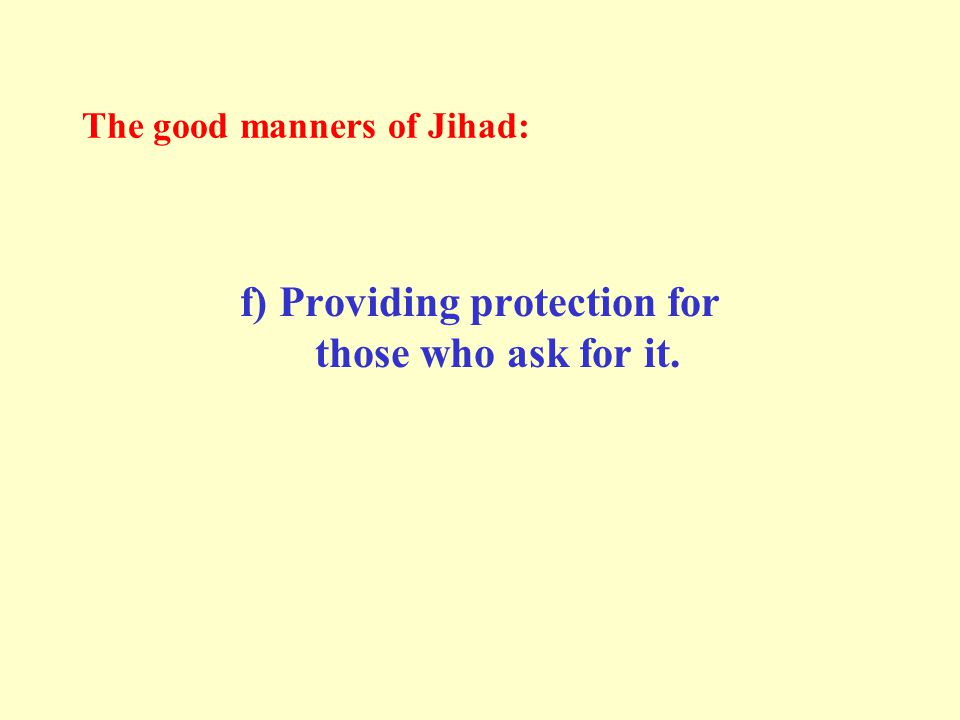 If they refuse to accept Islam, demand from them the Jizyah.