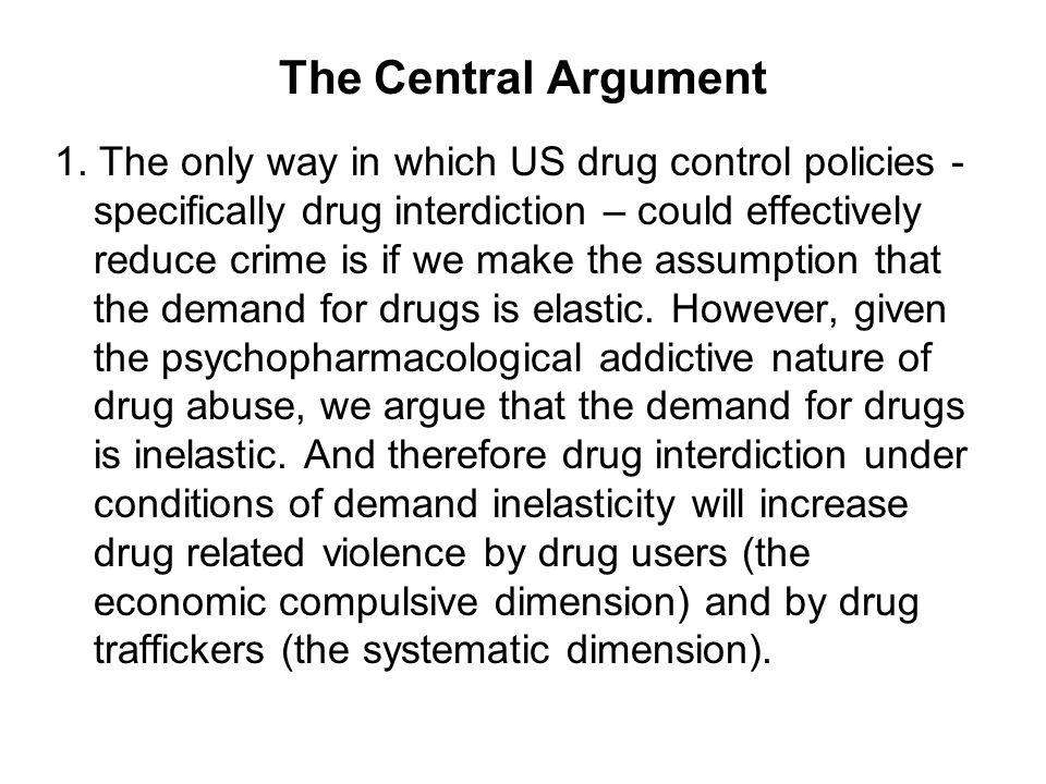 The Central Argument 1.