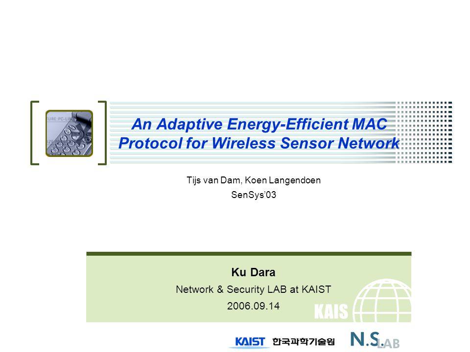 2/20 T-MAC Contents Introduction S- MAC drawbacks T- MAC Experiments Conclusions