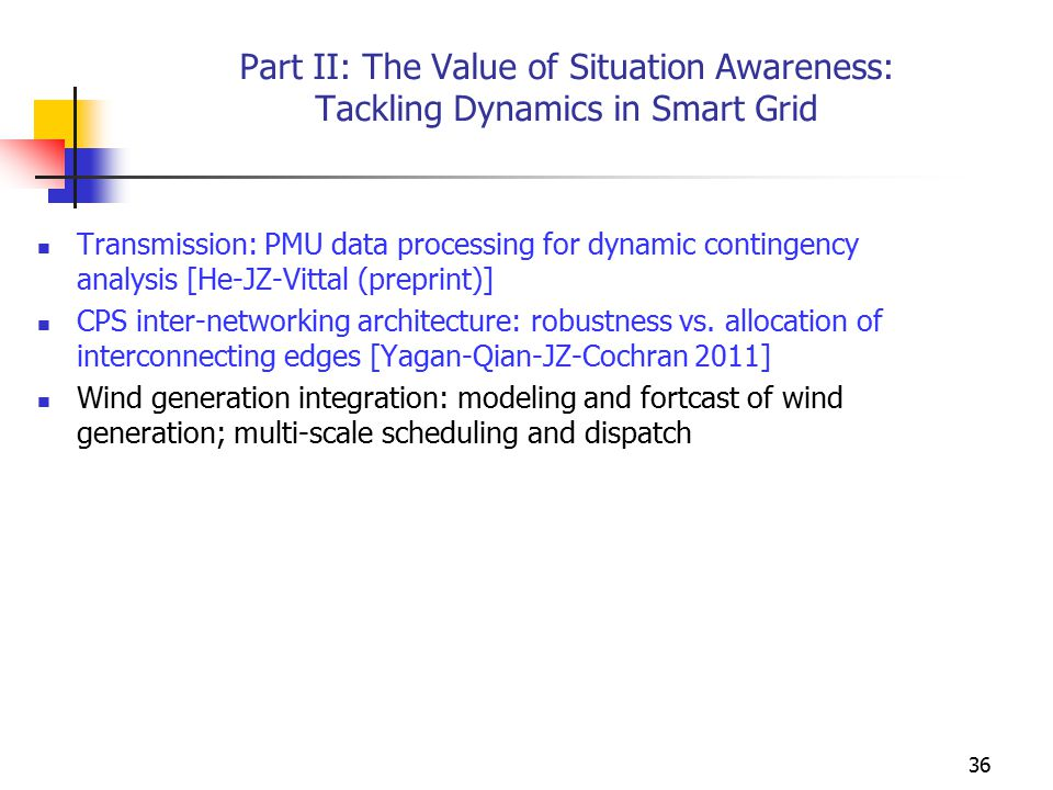 Part II: The Value of Situation Awareness: Tackling Dynamics in Smart Grid Transmission: PMU data processing for dynamic contingency analysis [He-JZ-V