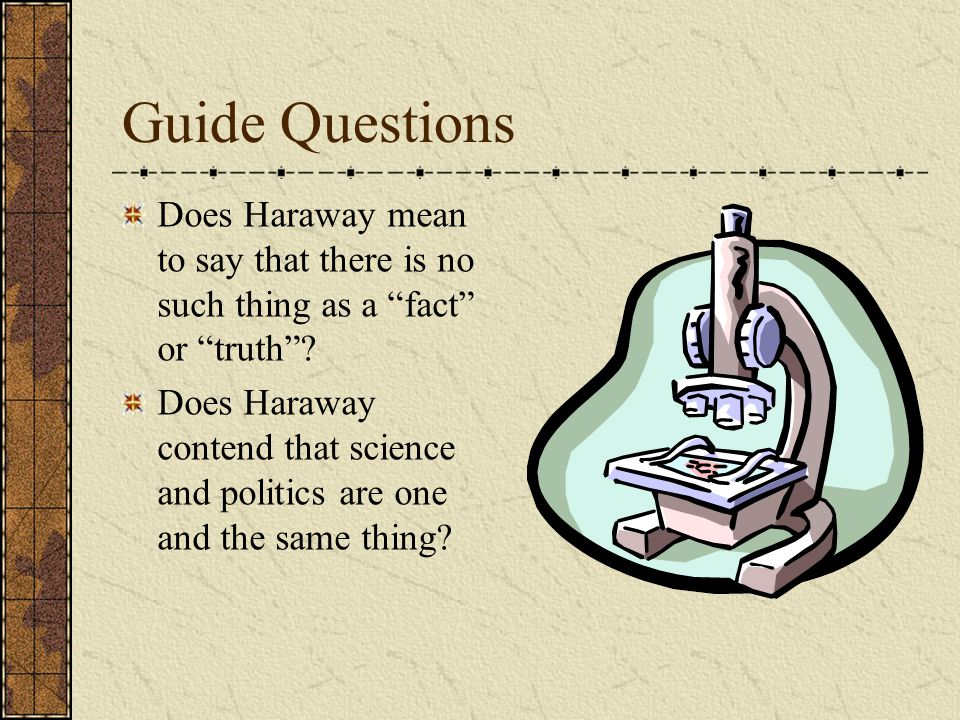 Guide Question In what ways are feminism and science both myths
