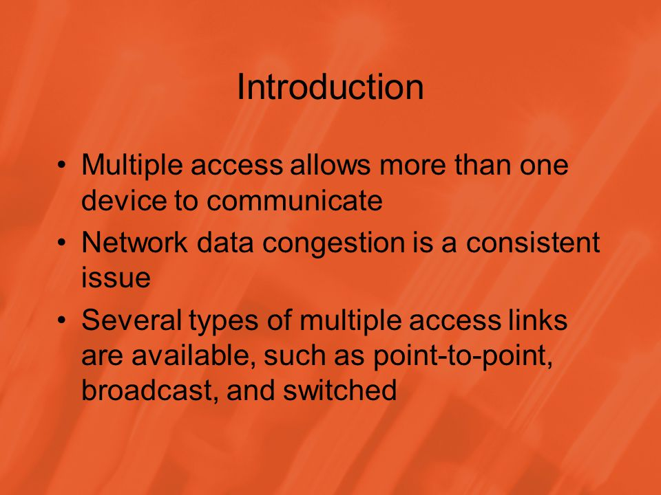Design Issues Based on network architecture, networks can be logically divided into two classes: –In a distributed design, all nodes have approximately the same kinds and amounts of information –In a centralized design, there is a central node or a manager, which manages all communication decisions
