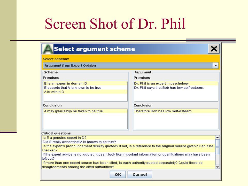 Screen Shot of Dr. Phil