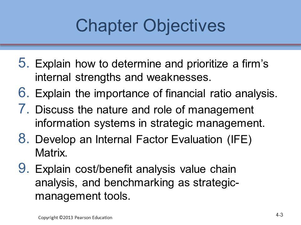 A Comprehensive Strategic- Management Model 4-4 Copyright ©2013 Pearson Education