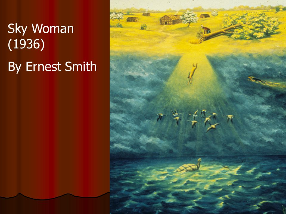 Sky Woman (1936) By Ernest Smith
