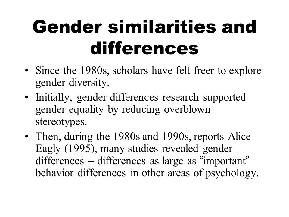 Independence versus connectedness This may help explain why, compared to friendships with men, both men and women report friendships with women to be more intimate, enjoyable, and nurturing.