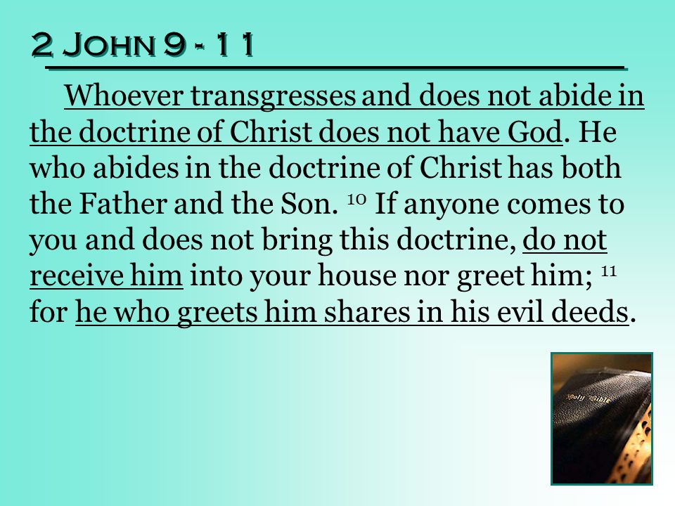 Concluding Thoughts The Word of God is complete, and revelation is finished God gave the apostles, and inspired men of the Bible, to supply for us what is needed for salvation (The Gospel) We must respect God's Word.