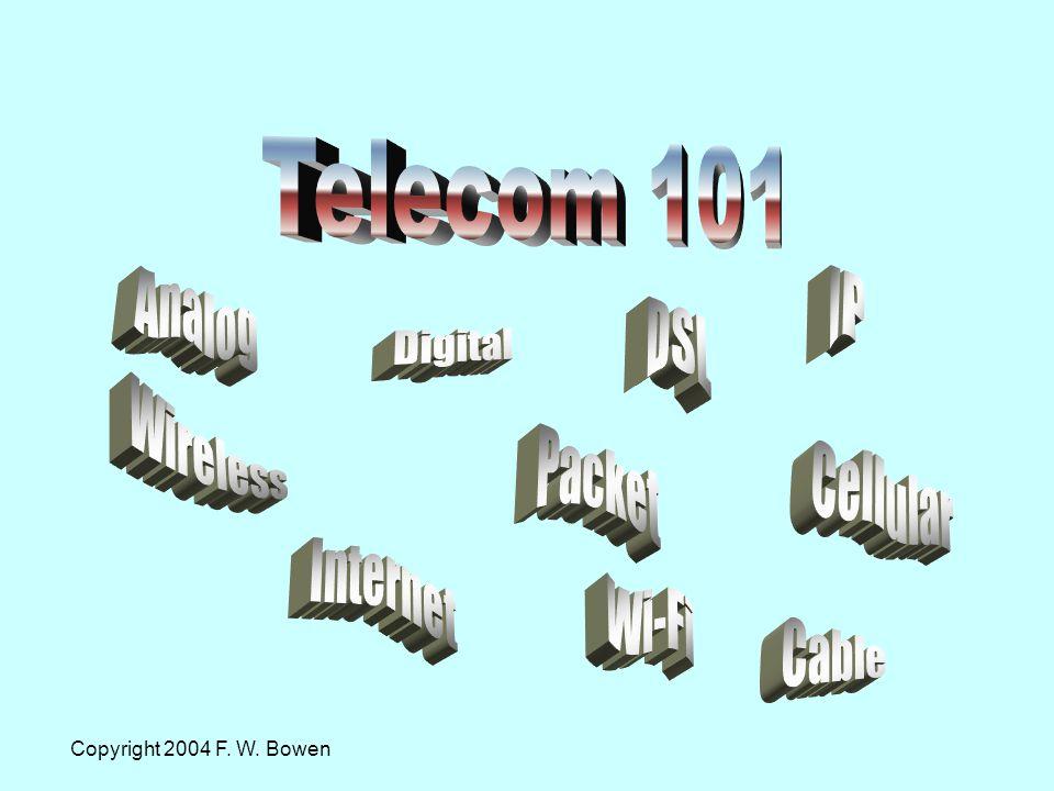 Copyright 2004 F. W. Bowen
