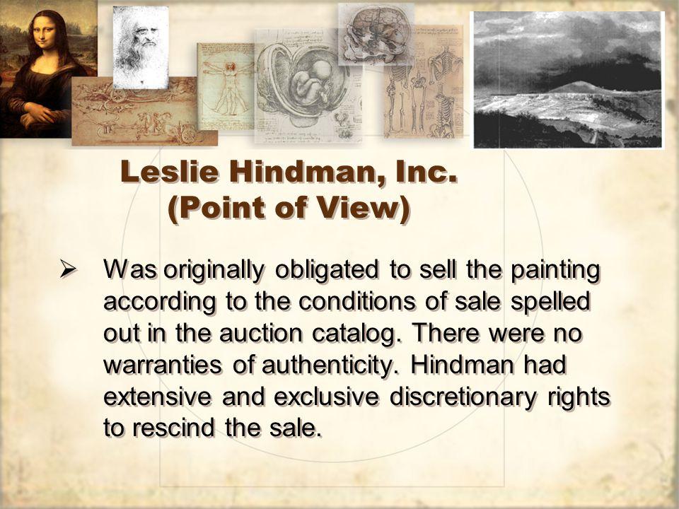 Leslie Hindman, Inc.