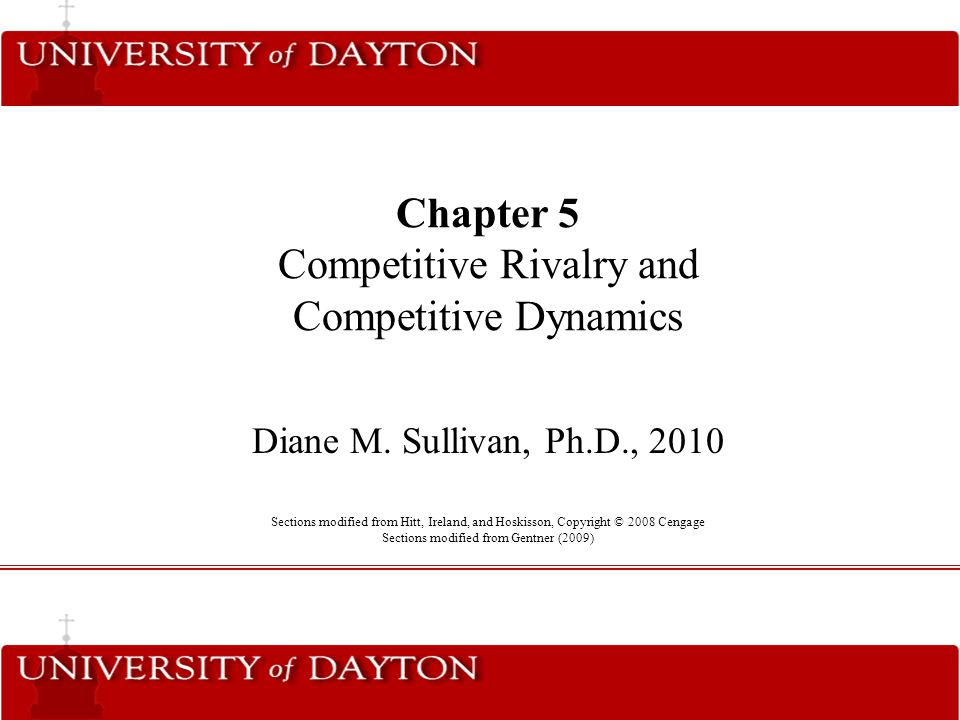 The Strategic Management Process Insert figure 1.1 graphic After selecting a business-level strategy, firms must remain aware of competitive rivalry and dynamics that affect the success of their competitive actions and that allow them to predict competitor's actions