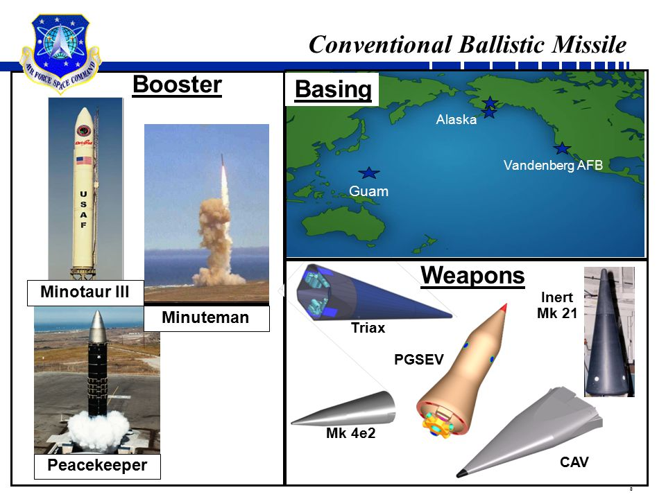 9 Land Basing Attributes Key attributes of a CONUS-based system Prompt response Low cost to operate and maintain High availability…capable of 24/7 operations High reliability Unambiguous launch location No co-location of nuclear and conventional capabilities* Minimizes risk of misinterpretation Clear intentions Best possible two-way communications… immediate, real-time, with immediate feedback Horizontal Coffin