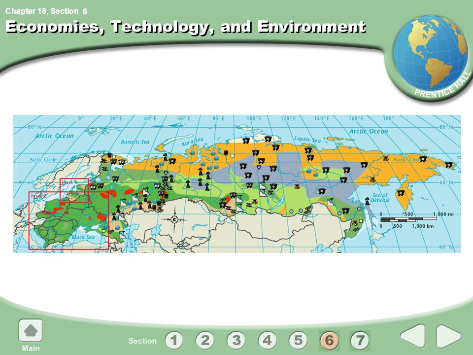 Chapter 18, Section Economies, Technology, and Environment 6