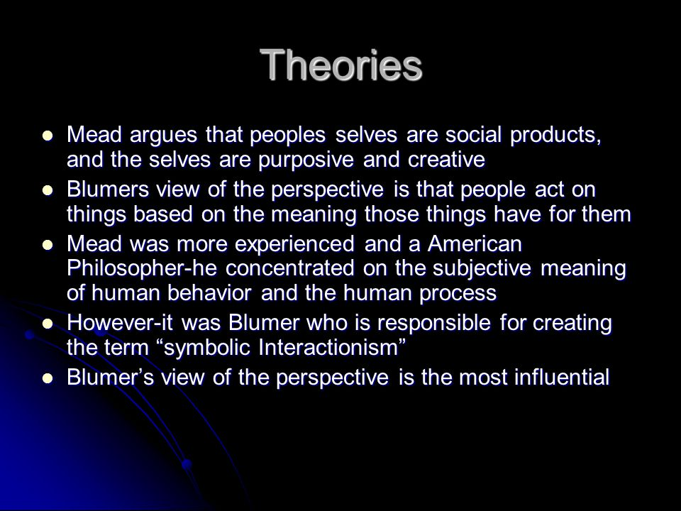 A few more things… Interactionism is important in sociology-it creates fluxuation in the social structure of society Interactionism is important in sociology-it creates fluxuation in the social structure of society Our text book reveals in chapters 4 & 5 how interactionists contend that all social life, inclusive of social institutions are in a constant state of flux Our text book reveals in chapters 4 & 5 how interactionists contend that all social life, inclusive of social institutions are in a constant state of flux Symbolic Interactionism plays a role in peoples decision making process as well as daily interactions Symbolic Interactionism plays a role in peoples decision making process as well as daily interactions