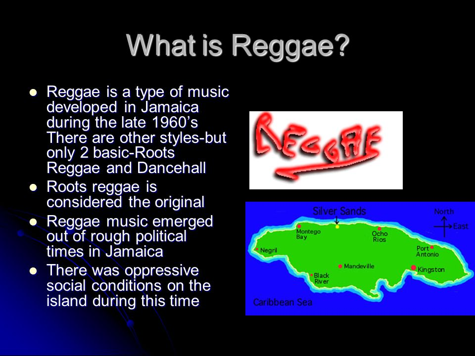 Along with Reggae When most people think of reggae, they associate the music symbolically- usually with marijuana and Rastafarian culture When most people think of reggae, they associate the music symbolically- usually with marijuana and Rastafarian culture As previously mentioned- Reggae developed in Jamaica and Rastafarian culture is native to the island As previously mentioned- Reggae developed in Jamaica and Rastafarian culture is native to the island Most people symbolize Rastafarian culture with marijuana or as it is called in the culture Ganja Most people symbolize Rastafarian culture with marijuana or as it is called in the culture Ganja